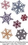 quilted,snowflake,ornament,christmas,snow,holiday