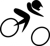 olympic,sport,cycling,pictogram,clip