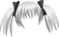 secretlondon,manga,hair,remix,silver,pigtail