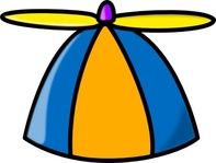 propeller,toy,play,playing,cartoon,hat,geek,media,clip art,public domain,image,png,svg
