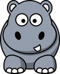hippo,remix,cartoon,hippopotamus,mammal,africa,animal,clip art,media,public domain,image,png,svg