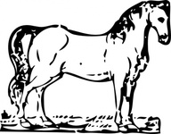 horse,woodcut,animal,mammal,media,clip art,externalsource,public domain,image,png,svg