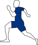 jogging,exercise,cartoon,contour,colour,people,man,sport,activity,run,running,training