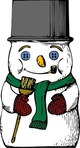 snowman,media,clip art,externalsource,public domain,image,png,svg,snow,winter,christmas,top hat,uspto