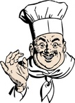 happy,chef,media,clip art,public domain,image,png,svg,people,person,man,cook,occupation,cartoon,food