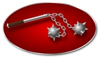 morning,star,weapon,media,clip art,public domain,image,png,svg,morning star,metal,war