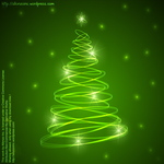 abstract,allonzo,christmas,colorful,glow,greeting,inc,luminous,tree,vibrant