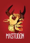 music,mastodon,hunter,album cover
