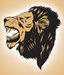 lion head,lion roar,lion illustration