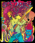 rock,psychedelic,star,woman,art noveau,guitar,poster,demon,fillmore west,art,noveau,fillmore,west,poster,poster