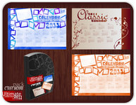 calendar,calender,new year,blue,orange,classic