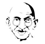gandhi,man,peace,leader,india,freedom,religious