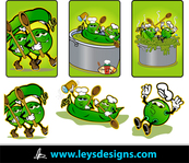 awesome,too many cook,delicious,animated,sweet,pea,fancy,food,vegetable,ley's design