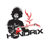 hendrix,illustration,jimi,music,guitar,guitarist,musician,rock and roll,rock n roll
