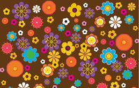 retro,old,brown,flower,floral,nature,background