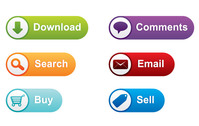 button,buy,colorful,comment,download,email,search,sell,web,element,website,page