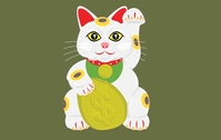 lucky,cat,china,chinese,charm,feng,shui