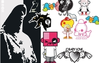 crazylove,collection,miscellaneous,blacktonez,cartoon,character