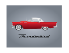 ford,thunderbird,car,classic,ford,thunderbird,ford,thunderbird