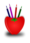 pen,stand,pencil,school,red,heart,pen,svg,png