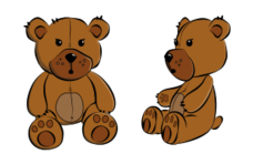 teddy bear cartoon,teddy bear cartoon