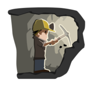 mine,miner,job,profession,cave,helmet,pickaxe,coal,ore