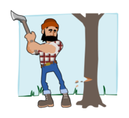 lumberjack,woodcutter,wood,tree,forest,axe,lumber,beard,profession,job