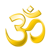om or aum is a sacred/mystical syllable in the dharma or indian religion,i.e. sanatan dharma,hinduism,jainism,and buddhism.