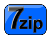 zip,archive,7zip,7-zip,open source,igor pavlov,blue,icon,free,igor pavlov