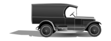 old,truck,car,vehicle,30's,thirties,1930,transport,cargo,load,b&w,black and white,grayscale,photorealistic