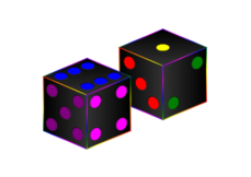 dice,game,cube,color,gambling,luck