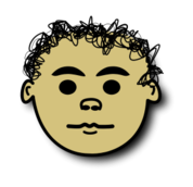 serius,comic,face,curly,head,icon,avatar