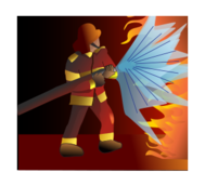 fire,hose,flame,flammes,glow,firefighter,pompier,rougeoiement,man,woman,people,homme,femme,humain,media,clip art,public domain,image,png,svg,flame