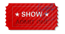 ticket,admit one,admit,stamp
