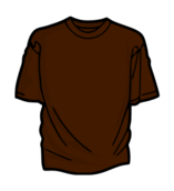 clothing,brown,color,t-shirt