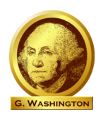president,gold,memorial,george,washington,gw,president,media,clip art,public domain,png,svg