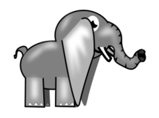 elephant,animal,cartoon