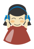 girl,headphone,music,listen,woman,character,cartoon,anime