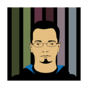 jakub,jankiewicz,kuba,jcubic,portrait,stripe,vectorized,poland,people,face,head,man,avatar,colour
