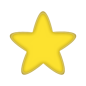 star,yellow,five point,five point,public domain