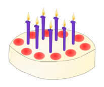birthday,cake,candle,birthday