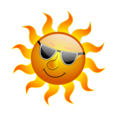sun,smilie,smily,3d,smile,cartoon,gloss,glossy,summer,2010,inky2010,inkscape,3d,vector