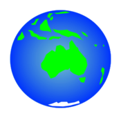 globe,earth,map,planet,world,australia,oceania,projection,humor