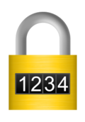 combination,1234,number,lock,icon,media,clip art,brushed metal,png,svg,security,protection,digital