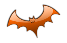 halloween,black,silhouette,icon,avatar,spooky,ghost,text,shade,bat,glossy,gloss,halloween2010,halloween,clip art,inky2010,inkscape,2010,free,clip,bat