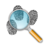 finger,print,search,find,clue,mystery,magnifying glass,fingerprint,tool,clue,media,clip art,how i did it