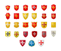 heraldic,coat of arm,coat,arm,armory,flag,gueule,gold,sable,sinople,azur,argent,layer