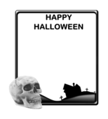 halloween,black,silhouette,icon,avatar,spooky,ghost,grave,dead,rip,frame