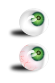 eyeball,eye,green,blood,image,svg,media,clip art,human,mh