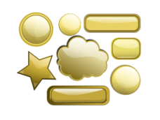 gold,button,gloss,glossy,icon